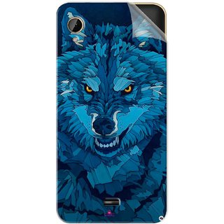 Snooky Printed southside festival wolf Pvc Vinyl Mobile Skin Sticker For Intex Cloud 4G Smart