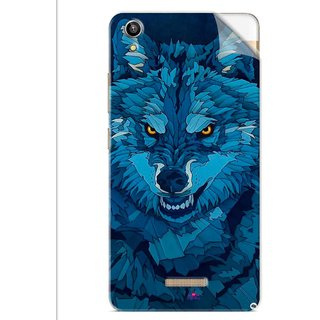Snooky Printed southside festival wolf Pvc Vinyl Mobile Skin Sticker For Lava V1 Pixel
