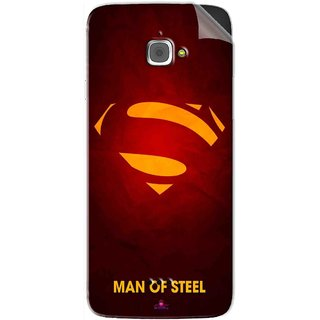 Snooky Printed Man Of Steel Supper Man Pvc Vinyl Mobile Skin Sticker For InFocus M350