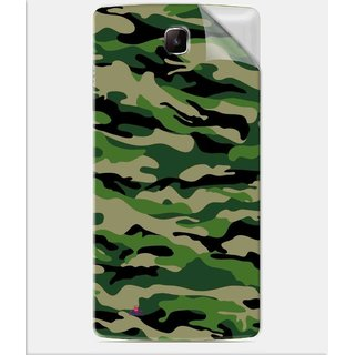 Snooky Printed Military Camouflage Pattern Pvc Vinyl Mobile Skin Sticker For Oppo Neo 3