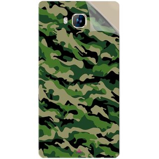 Snooky Printed Military Camouflage Pattern Pvc Vinyl Mobile Skin Sticker For LYF Wind 2