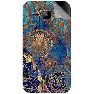 Snooky Printed mandala Pvc Vinyl Mobile Skin Sticker For Micromax Bolt S301