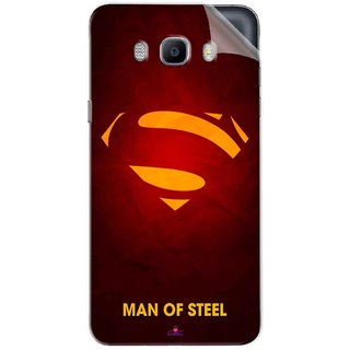 Snooky Printed Man Of Steel Supper Man Pvc Vinyl Mobile Skin Sticker For Samsung Galaxy On8