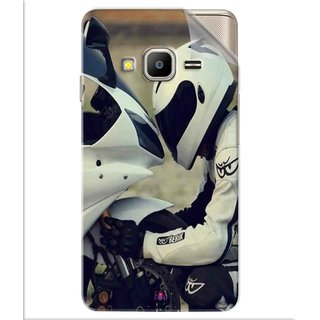 Snooky Printed motorcycle lover Pvc Vinyl Mobile Skin Sticker For Samsung Z2