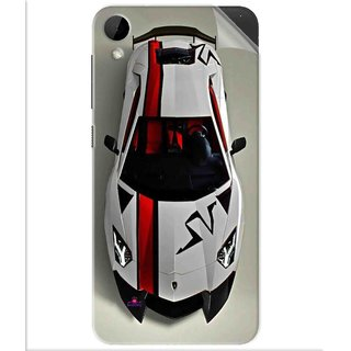 Snooky Printed sports cars and bikes Pvc Vinyl Mobile Skin Sticker For Htc Desire 825