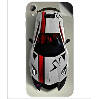 Snooky Printed sports cars and bikes Pvc Vinyl Mobile Skin Sticker For Htc Desire 830