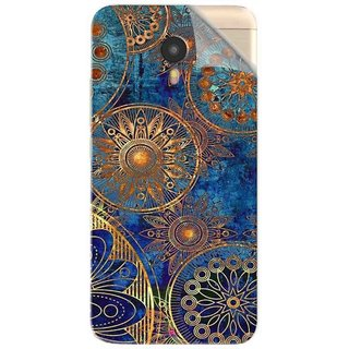 Snooky Printed mandala Pvc Vinyl Mobile Skin Sticker For Micromax YU Yunicorn