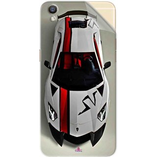 Snooky Printed sports cars and bikes Pvc Vinyl Mobile Skin Sticker For Oppo R9