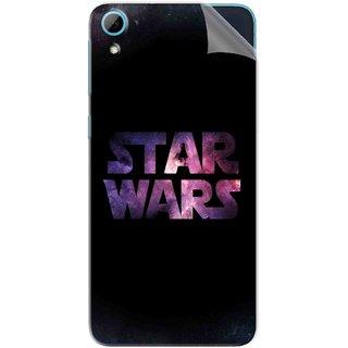Snooky Printed star wars black Pvc Vinyl Mobile Skin Sticker For HTC Desire 826