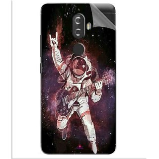 Snooky Printed Rock Astronaut Pvc Vinyl Mobile Skin Sticker For Lenovo K8