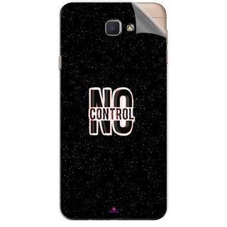 Snooky Printed No Control Pvc Vinyl Mobile Skin Sticker For Samsung Galaxy J7 Prime