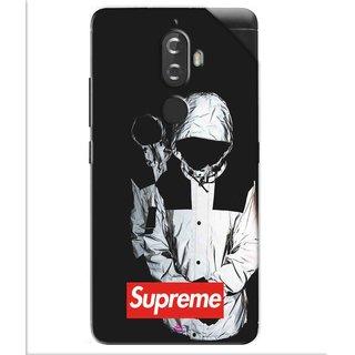 Snooky Printed Sad Supreme Pvc Vinyl Mobile Skin Sticker For Lenovo K8 Plus