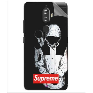 Snooky Printed Sad Supreme Pvc Vinyl Mobile Skin Sticker For Lenovo K8