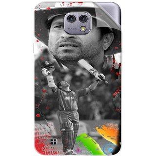 Snooky Printed Sachin Tendulkar Win Pvc Vinyl Mobile Skin Sticker For LG X cam