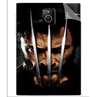 Snooky Printed x men origins wolverine Pvc Vinyl Mobile Skin Sticker For BlackBerry Passport