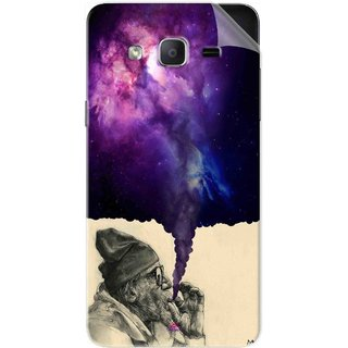 Snooky Printed old man smoking weed Pvc Vinyl Mobile Skin Sticker For Samsung Galaxy On5 Pro