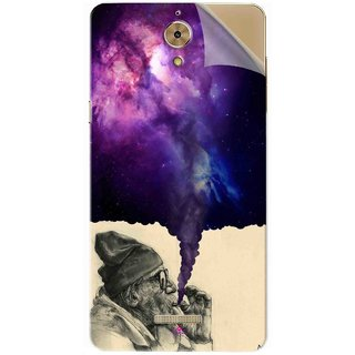 Snooky Printed old man smoking weed Pvc Vinyl Mobile Skin Sticker For Coolpad Mega 2.5D