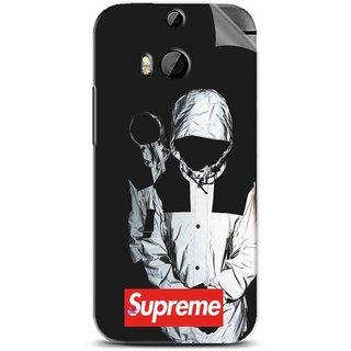 Snooky Printed Sad Supreme Pvc Vinyl Mobile Skin Sticker For Htc One M8