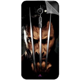 Snooky Printed x men origins wolverine Pvc Vinyl Mobile Skin Sticker For Asus Zenfone 2 Laser ZE500CL