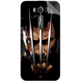 Snooky Printed x men origins wolverine Pvc Vinyl Mobile Skin Sticker For Asus Zenfone 2 Laser ZE500KL