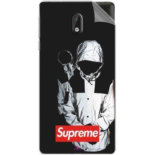 Snooky Printed Sad Supreme Pvc Vinyl Mobile Skin Sticker For Nokia 3