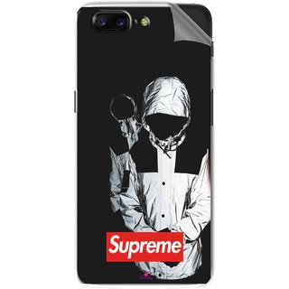 Snooky Printed Sad Supreme Pvc Vinyl Mobile Skin Sticker For OnePlus 5