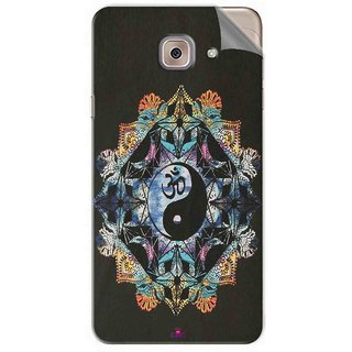 Snooky Printed Om Lord religious Pvc Vinyl Mobile Skin Sticker For Samsung Galaxy J7 Max