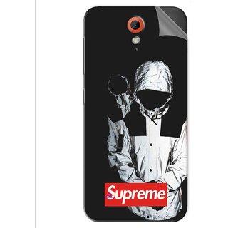 Snooky Printed Sad Supreme Pvc Vinyl Mobile Skin Sticker For Htc Desire 620
