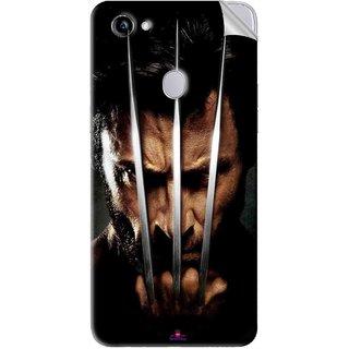 Snooky Printed x men origins wolverine Pvc Vinyl Mobile Skin Sticker For Oppo F7