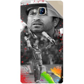 Snooky Printed Sachin Tendulkar Win Pvc Vinyl Mobile Skin Sticker For LYF Wind 2