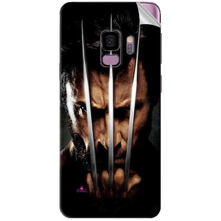 Snooky Printed x men origins wolverine Pvc Vinyl Mobile Skin Sticker For Samsung Galaxy S9 Plus