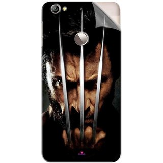 Snooky Printed x men origins wolverine Pvc Vinyl Mobile Skin Sticker For Letv Le 1S