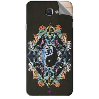 Snooky Printed Om Lord religious Pvc Vinyl Mobile Skin Sticker For Samsung Galaxy J7 Prime