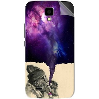 Snooky Printed old man smoking weed Pvc Vinyl Mobile Skin Sticker For Gionee Pioneer P2S