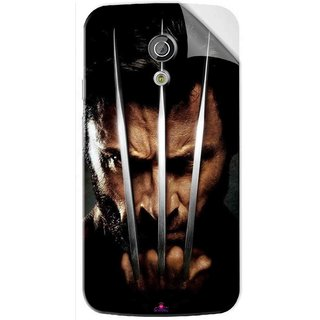 Snooky Printed x men origins wolverine Pvc Vinyl Mobile Skin Sticker For Moto G2