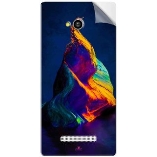 Snooky Printed one plus 5 stock Pvc Vinyl Mobile Skin Sticker For Lava Flair Z1