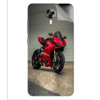 Snooky Printed panigale 1199 Motor cycle bike Pvc Vinyl Mobile Skin Sticker For Micromax Canvas Express 2 E313