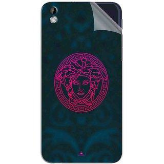 Snooky Printed Versace Pvc Vinyl Mobile Skin Sticker For HTC Desire 816
