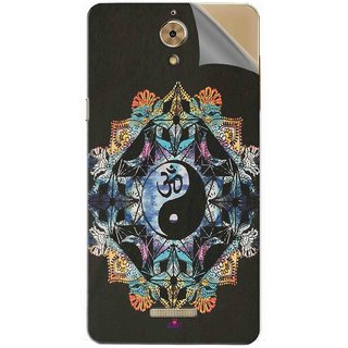 Snooky Printed Om Lord religious Pvc Vinyl Mobile Skin Sticker For Coolpad Mega 2.5D