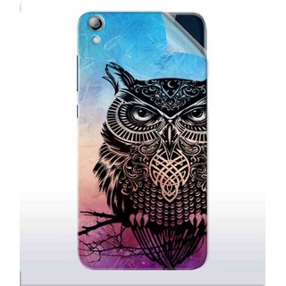 Snooky Printed warrior owl Pvc Vinyl Mobile Skin Sticker For Lenovo S850