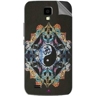 Snooky Printed Om Lord religious Pvc Vinyl Mobile Skin Sticker For Gionee Pioneer P2S