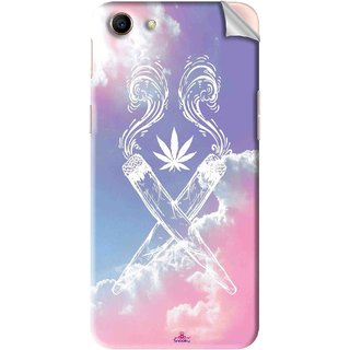 Snooky Printed weed for girls Pvc Vinyl Mobile Skin Sticker For Oppo A83