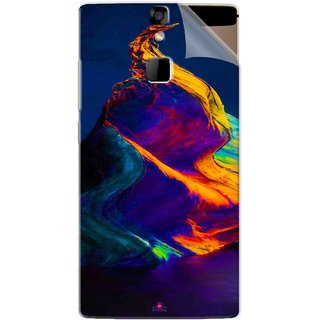 Snooky Printed one plus 5 stock Pvc Vinyl Mobile Skin Sticker For Micromax Canvas 6