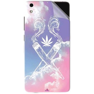 Snooky Printed weed for girls Pvc Vinyl Mobile Skin Sticker For LYF Water 5