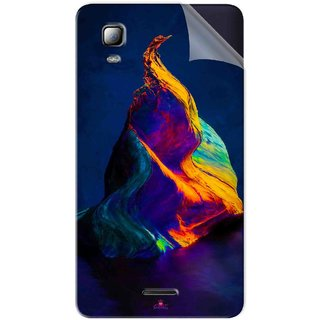 Snooky Printed one plus 5 stock Pvc Vinyl Mobile Skin Sticker For Micromax Canvas Doodle 3 A102