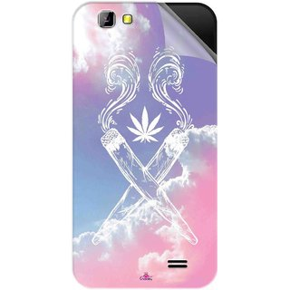Snooky Printed weed for girls Pvc Vinyl Mobile Skin Sticker For LYF Wind 5