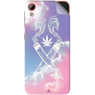 Snooky Printed weed for girls Pvc Vinyl Mobile Skin Sticker For HTC Desire 628