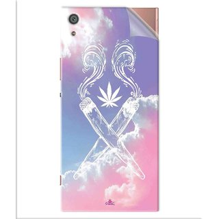 Snooky Printed weed for girls Pvc Vinyl Mobile Skin Sticker For Sony Xperia x1a Ultra