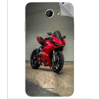 Snooky Printed panigale 1199 Motor cycle bike Pvc Vinyl Mobile Skin Sticker For Htc Desire 516