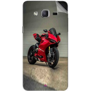 Snooky Printed panigale 1199 Motor cycle bike Pvc Vinyl Mobile Skin Sticker For Samsung Galaxy On5